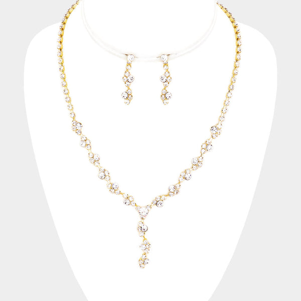Crystal Necklace Set - iBESTEST.com