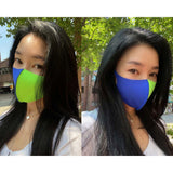 Two Tone Fashion Mask