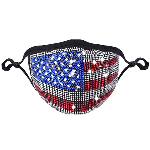 USA Sparkle Mask