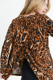 Wild Woman's Leopard Print Back Top