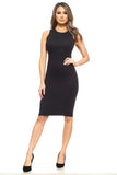 Women's Black Bodycon Dress