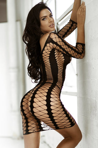 Killer Queen Fishnet Body-Stocking