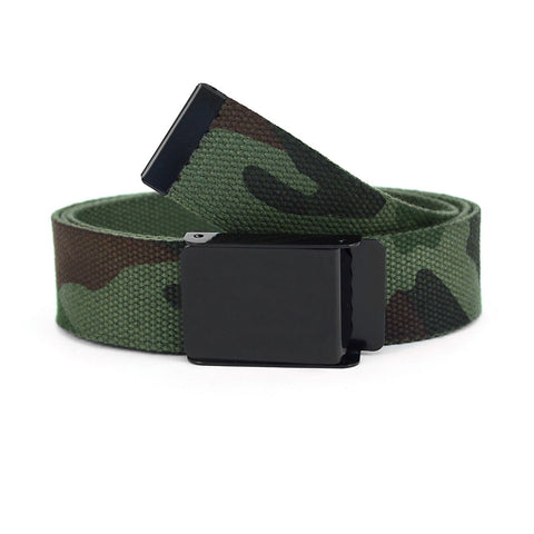 Men's  Camouflage  Military Canvas Belt