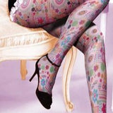 Candy Floral Fashion Tights