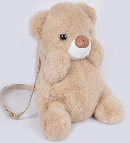 Teddy Plush Backpack - iBESTEST.com