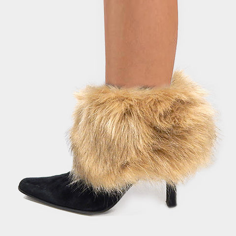 Faux Fur Boot Toppers / Warmers - iBESTEST.com