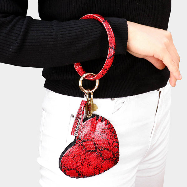 Python Heart Coin Purse - iBESTEST.com