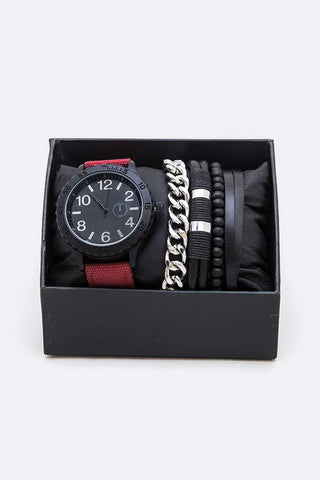 Canvas Strap Watch