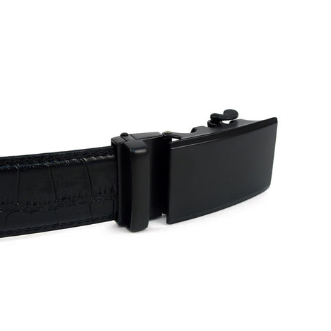 Men's Black Croc Belt