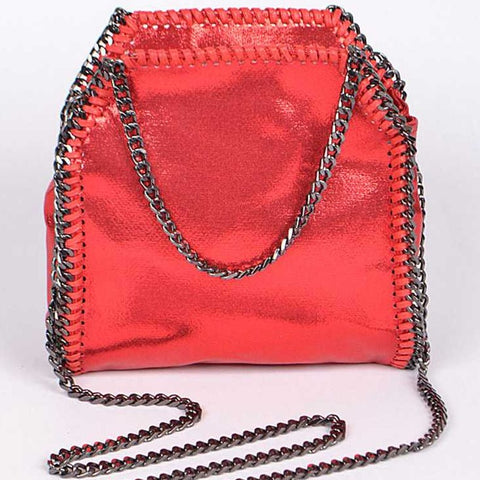 Heavy Metal Chain Swing Bag