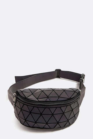 Structured Geo Fanny Pack