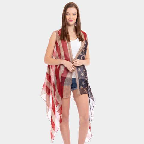 Patriotic Sleeveless Cover