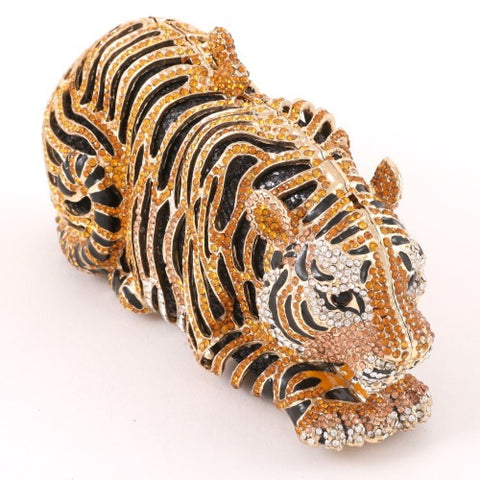 Crystal Tiger Clutch