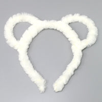 Faux Fur Bear Headband - iBESTEST.com