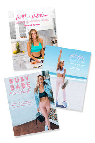 LIFESTYLE MAKEOVER BUNDLE: Meal Plan + Guiltless Guide + Busy Babe Handbook