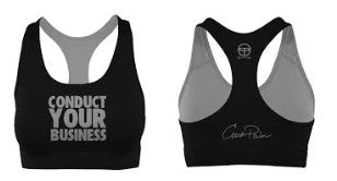 Conduct Your Business Sports Bra