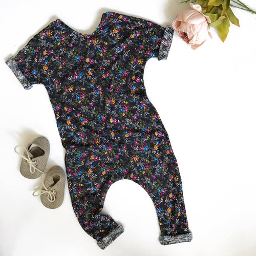 T shirt jumper in floral