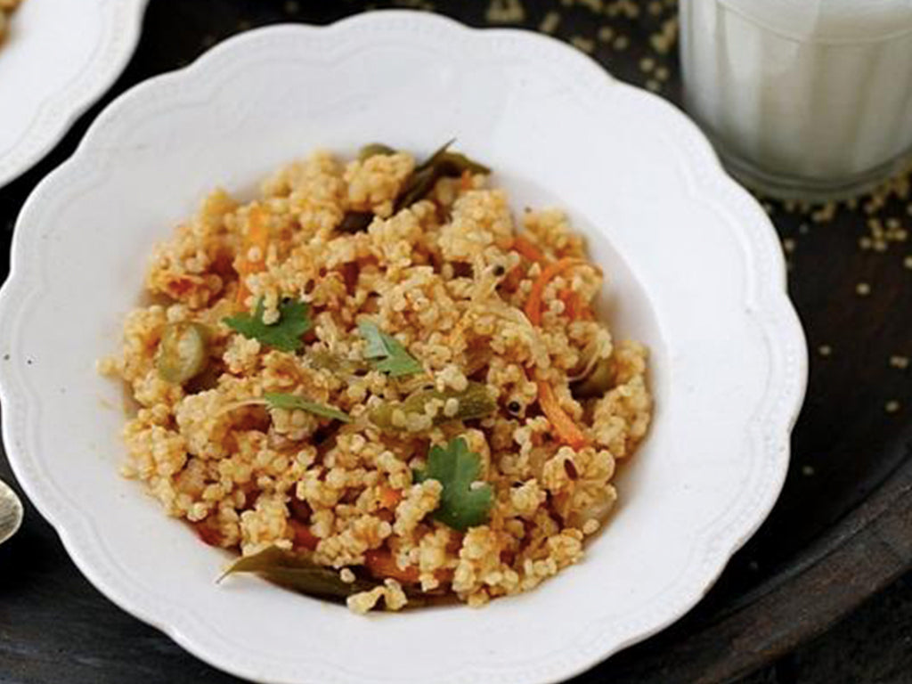 Foxtail Millet Vegetable Pulao