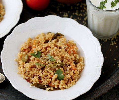 Foxtail Millet Pulao