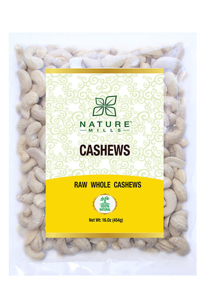 Natural Cashews 16 oz