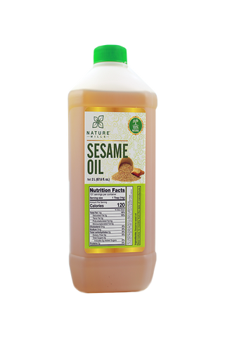 Natural/Unrefined Sesame Oil 2000 ML