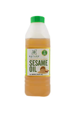 Natural/Unrefined Sesame Oil 500 ML