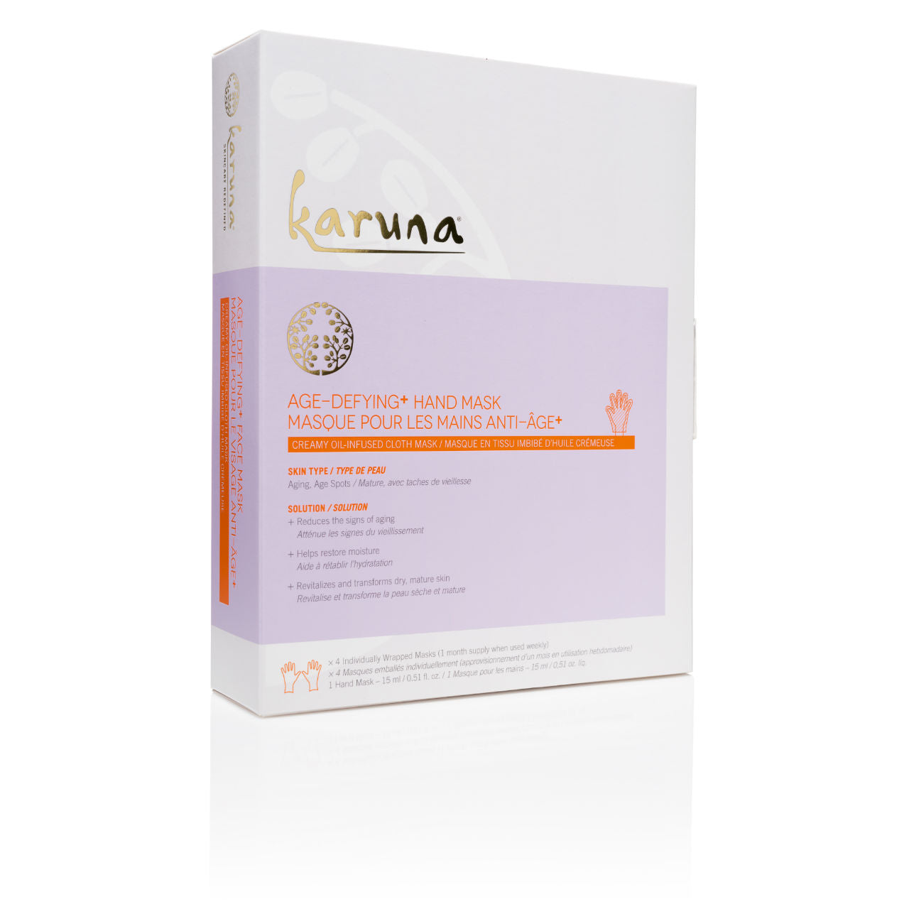 KARUNA Age-Defying+ Hand Mask Box