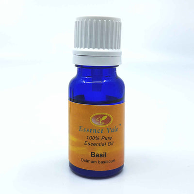 ESSENCE VALE 100% Pure Basil Essential Oil
