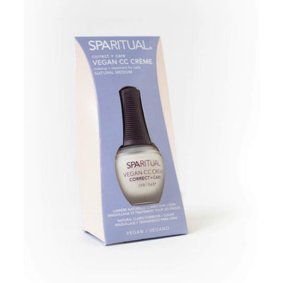 SPARITUAL Vegan CC Crème - Natural Medium
