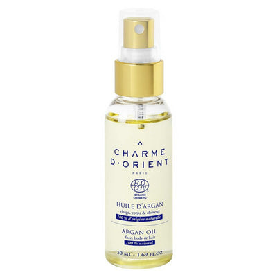 CHARME D'ORIENT Organic Argan Oil (Face, Body & Hair) 50ml