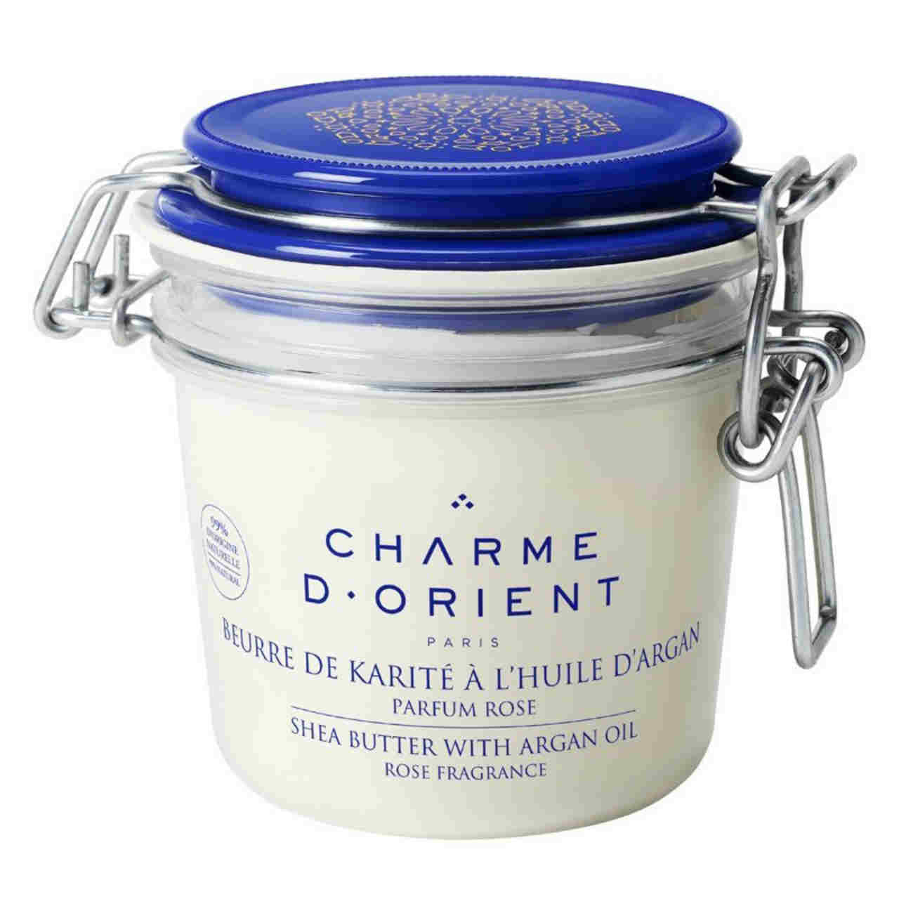 CHARME D'ORIENT Shea Butter with Argan Oil - Rose