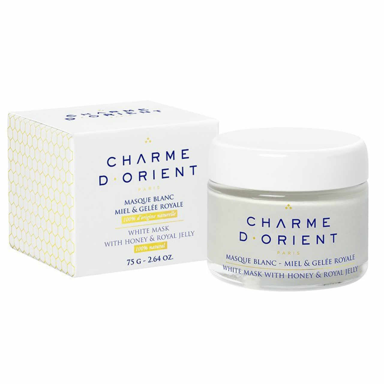 CHARME D'Orient White Mask with Honey and Royal Jelly