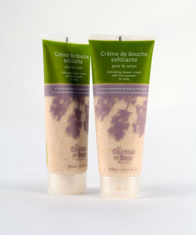 Le Chateau Du Bois EXFOLIATING SHOWER CREAM WITH FINE LAVENDER