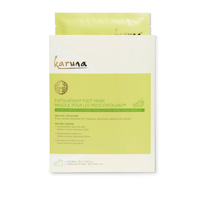 KARUNA Exfoliating+ Foot Mask Single