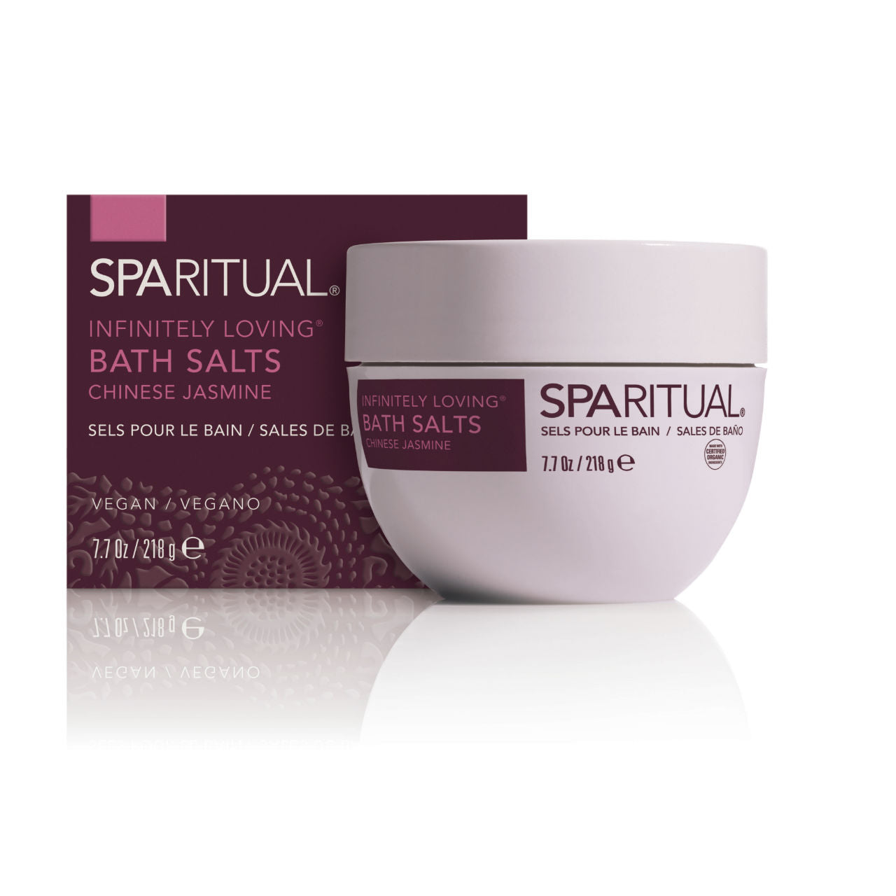 SPARITUAL Infinitely Loving® Bath Salts Box