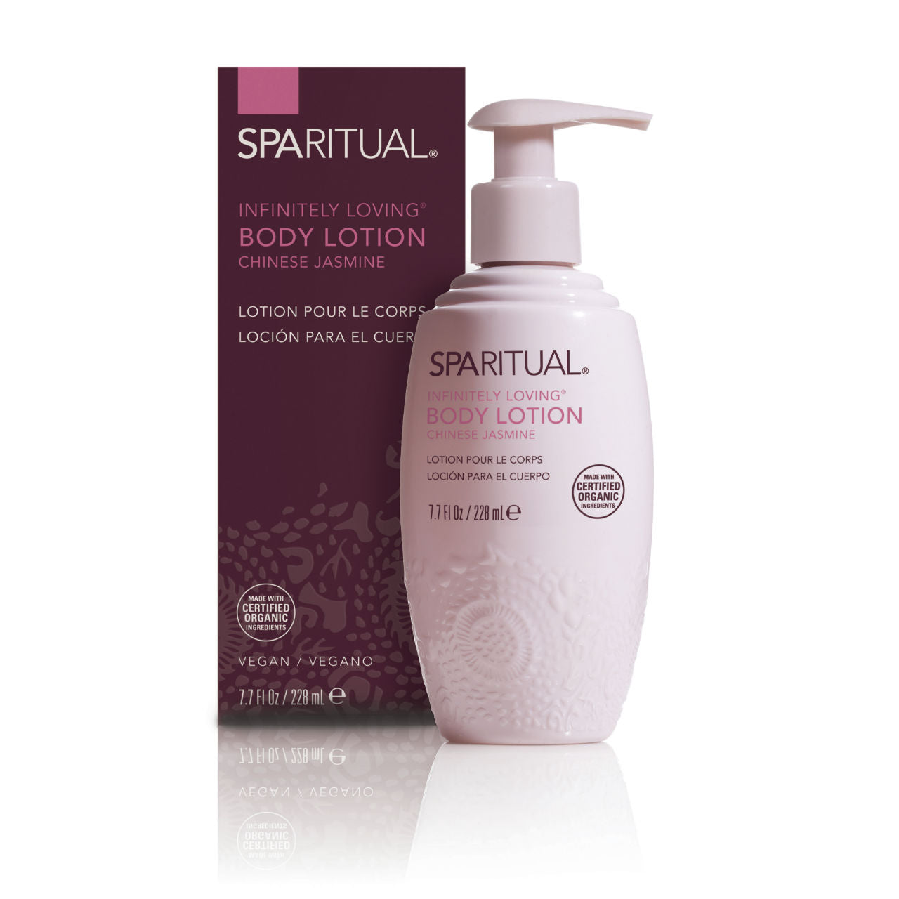 SPARITUAL Infinitely Loving Body Lotion Box