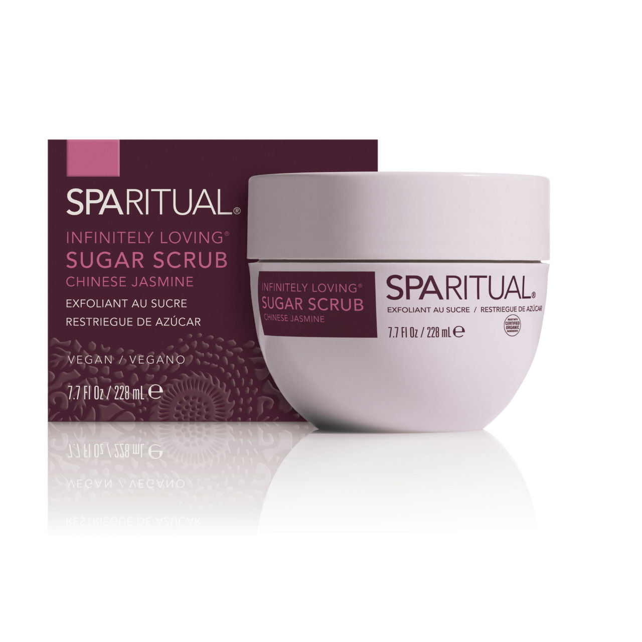 SPARITUAL Infinitely Loving Sugar Scrub Box