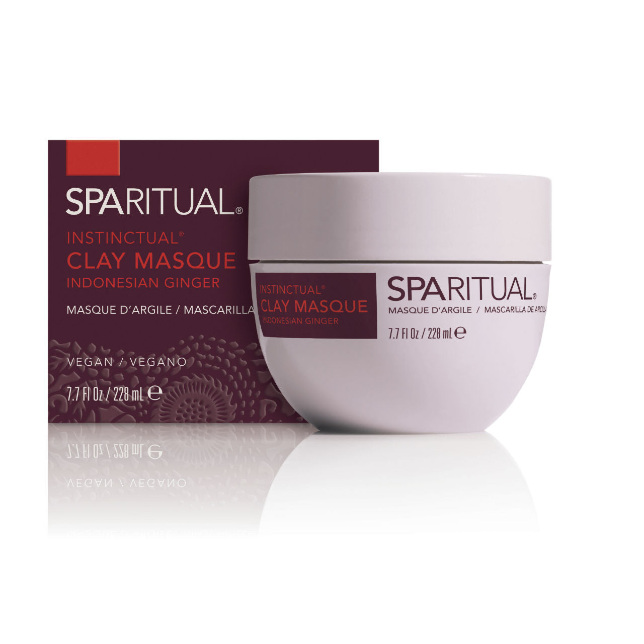 SPARITUAL Instinctual® Clay Masque Box