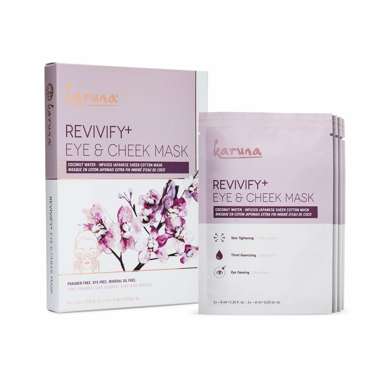 KARUNA Revivify+ Eye and Cheek Mask