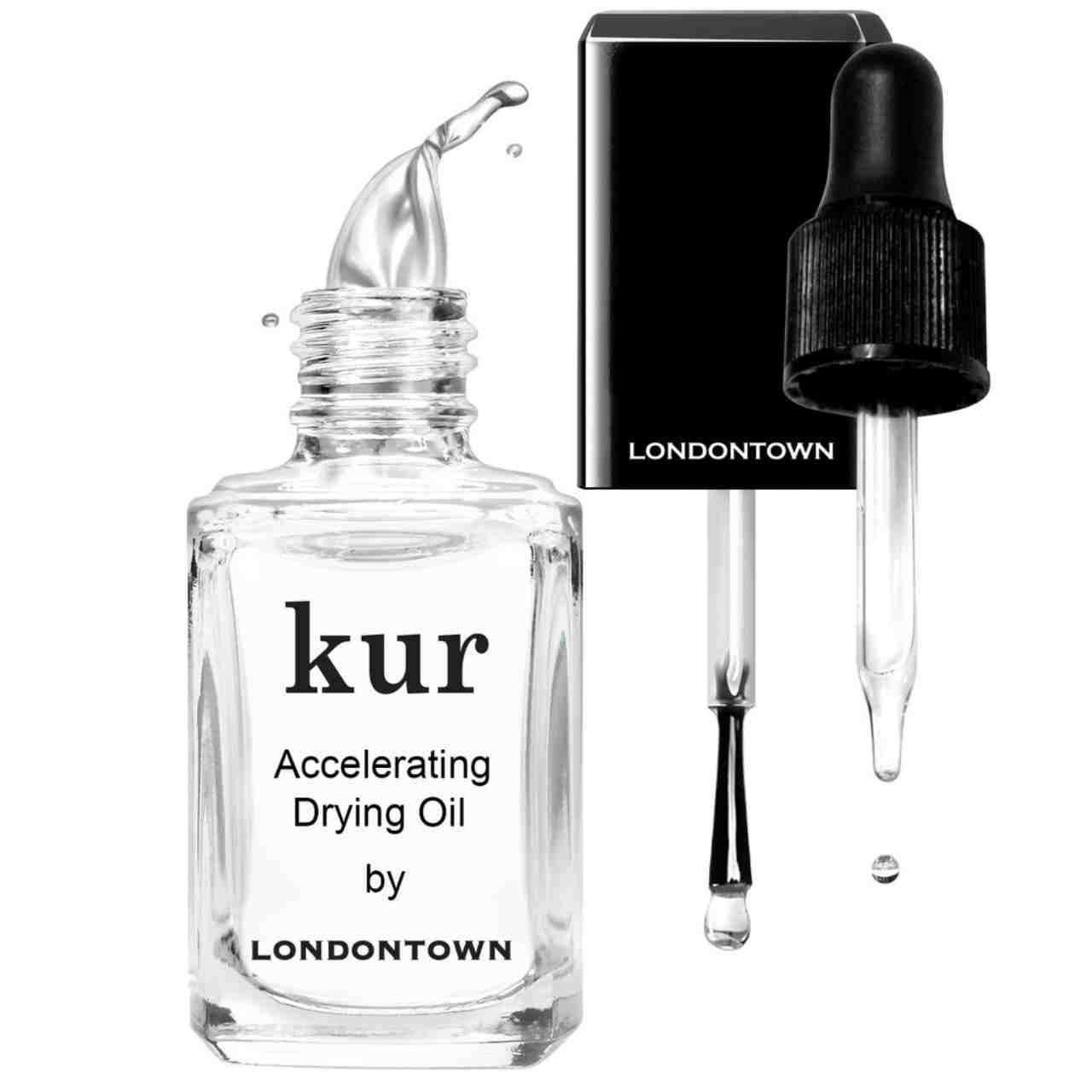 LONDONTOWN Kur Accelerating Drying Oil with black cap