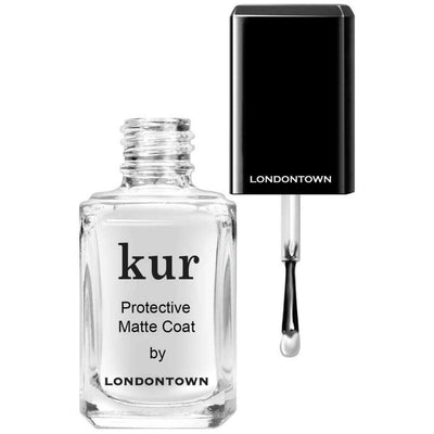 LONDONTOWN Kur Protective Matte Coat with Black Cap