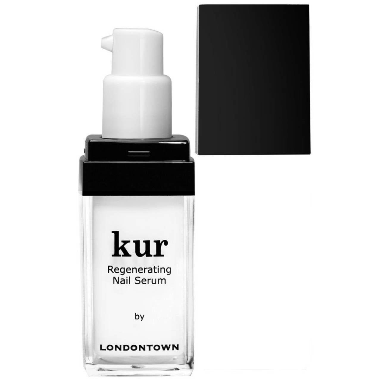 LONDONTOWN Kur Regenerating Nail Serum Black Cap