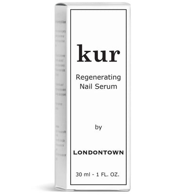 LONDONTOWN Kur Regenerating Nail Serum Box Packaging
