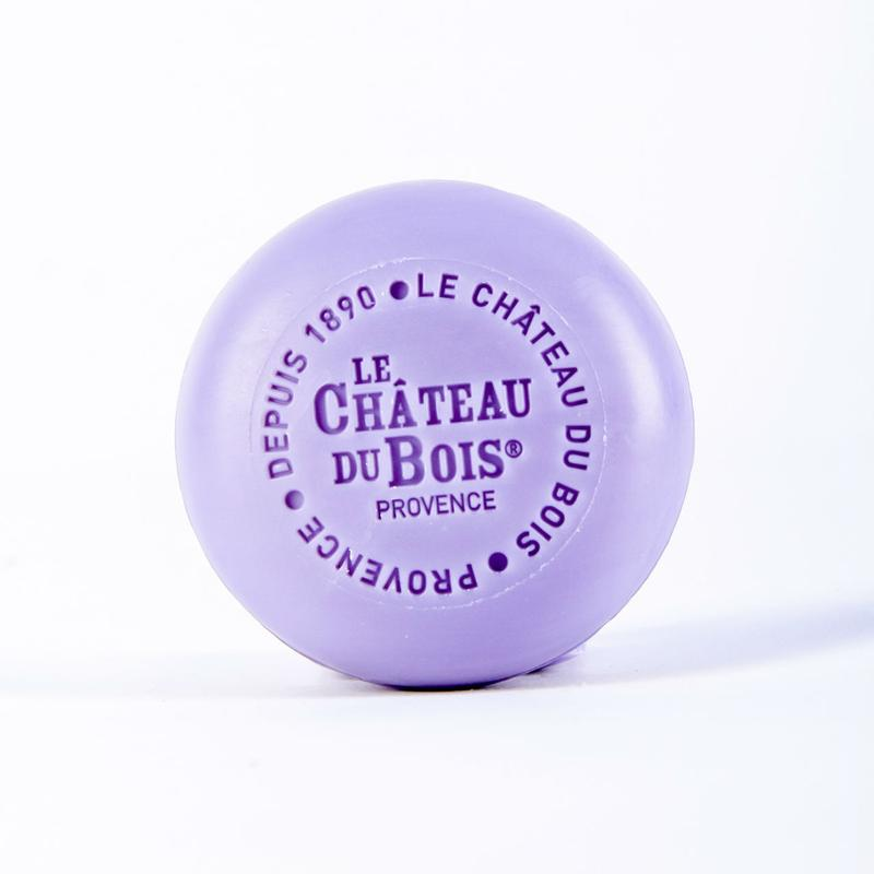 Le Chateau Du Bois FINE LAVENDER-SCENTED PURE PLANT SOAP (NATURAL COLOURING AGENT)