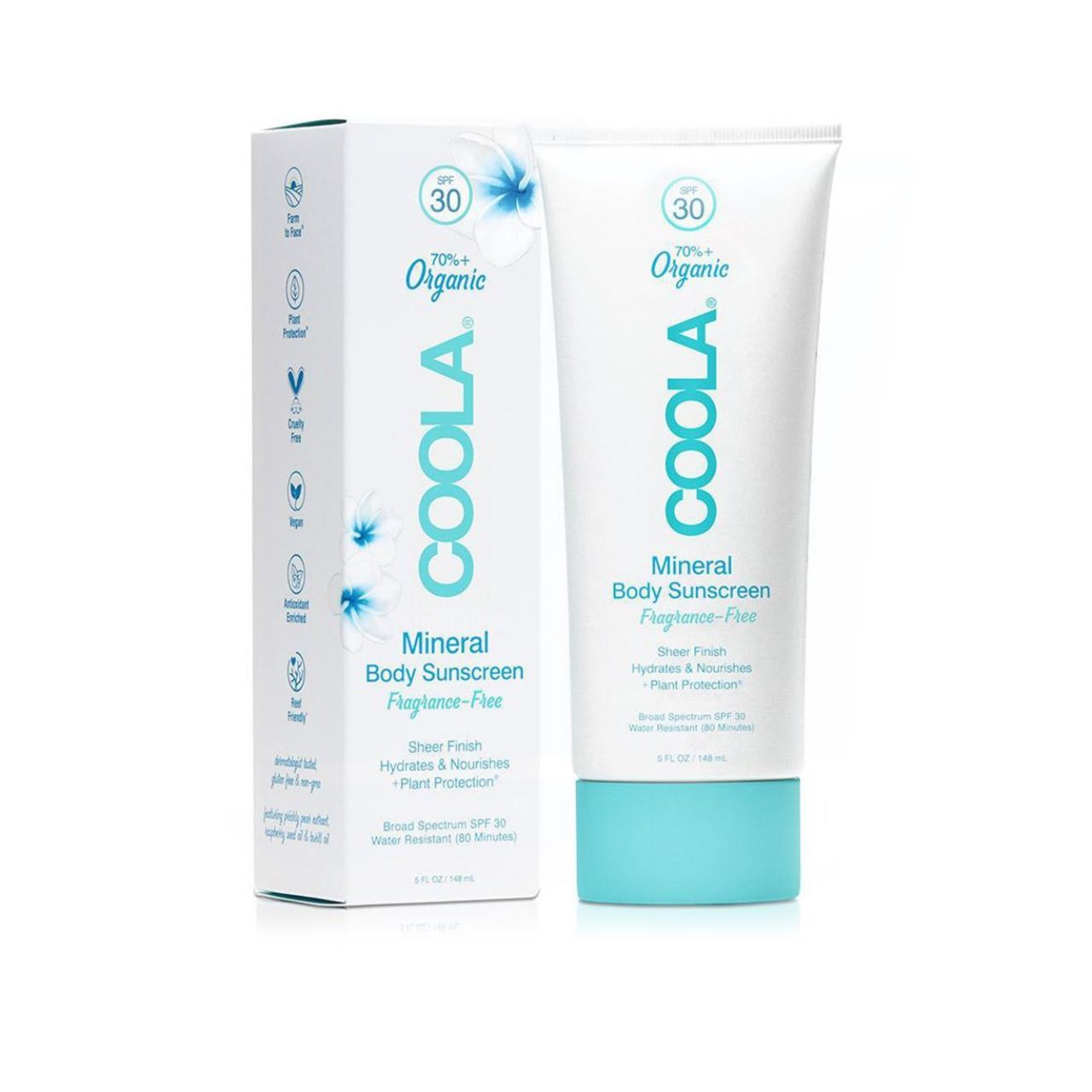 COOLA Mineral Body SPF 30 Sunscreen Lotion - Fragrance-Free