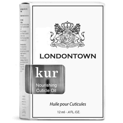 LONDONTOWN Kur Nourishing Cuticle Oil Box Packaging