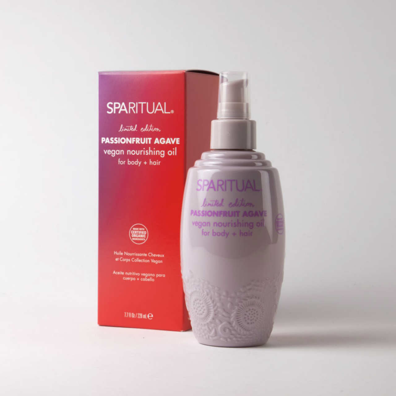 SPARITUAL Passionfruit Agave Nourishing Oil