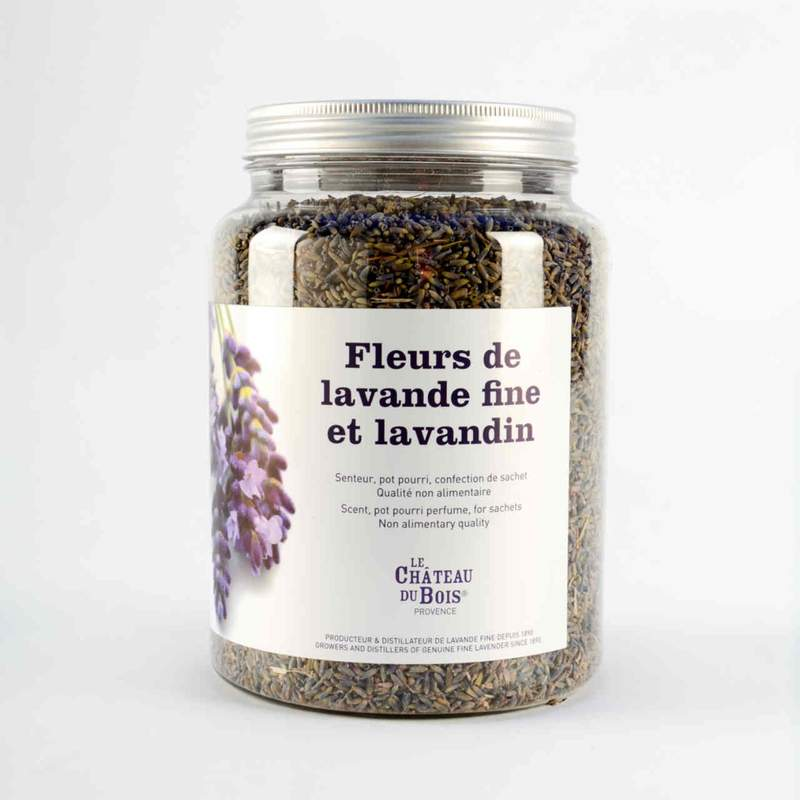 Le Chateau Du Bois POT OF FINE LAVENDER AND LAVANDINE