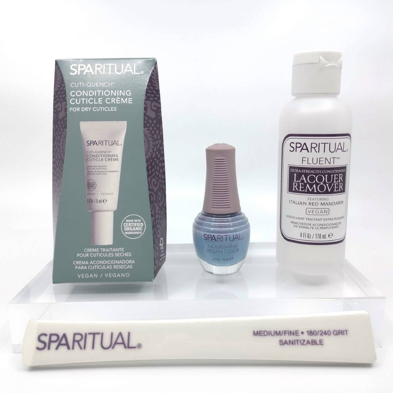 SPARITUAL At Home Nourishing Manicure Set