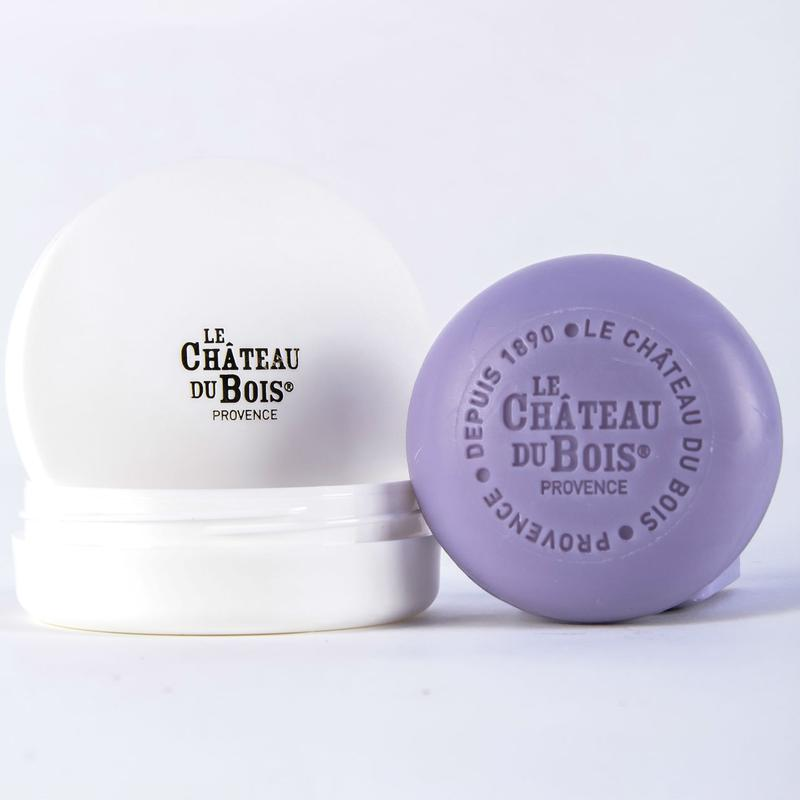 Le Chateau Du Bois FINE LAVENDER SCENTED SOAP WITH TRAVEL BOX 100G